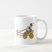 Goat Cart Coffee Mug