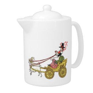 Goat Cart Teapot