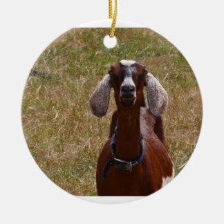 Goat Ceramic Ornament