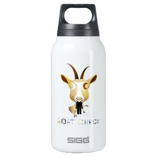 Goat Check – ZooDo Illustration Insulated Water Bottle