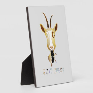 Goat Check – ZooDo Illustration Photo Plaques