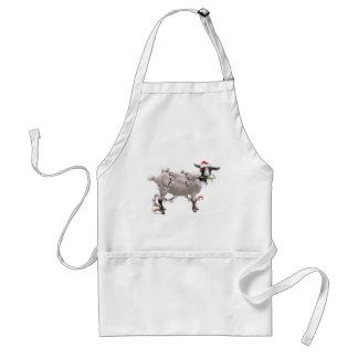 Goat Christmas Apron