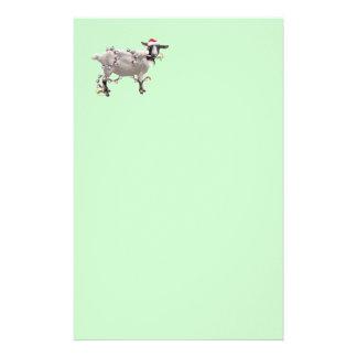 Goat Christmas Custom Stationery