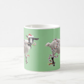 Goat Christmas Mugs