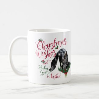 GOAT | Christmas Wishes Baby Goat Kisses Nubian