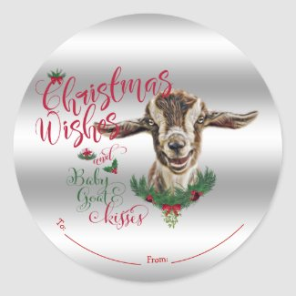 GOAT | Christmas Wishes Baby Goat Kisses Togg