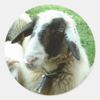 Goat Classic Round Sticker