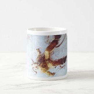Goat Cosmonaut mug