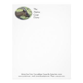 Goat dairy farm letterhead