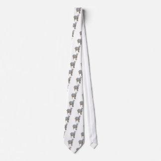 Goat Design Neck Tie
