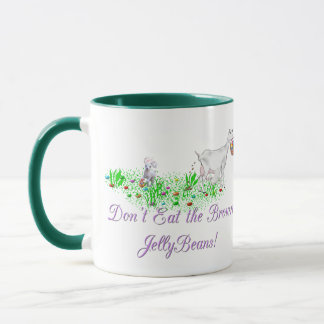 Goat Don't Eat the Brown Jelly Beans Mug