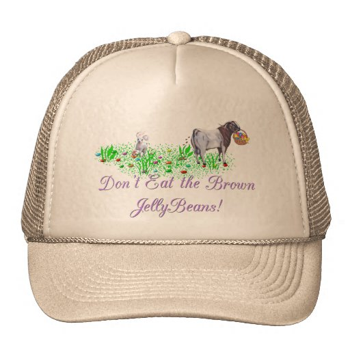 Goat Don't Eat the Brown Jelly Beans Trucker Hat