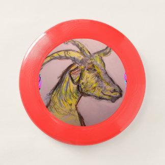 goat drawing Wham-O frisbee