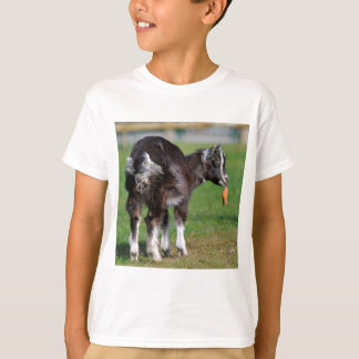 Goat eating carrot T-Shirt