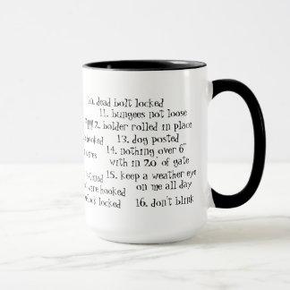 Goat, escape artist mug