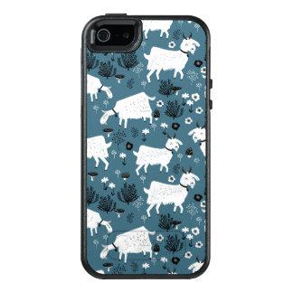 Goat Farm Animal Blue Baby Kid Boy / Andrea Lauren OtterBox iPhone 5/5s/SE Case