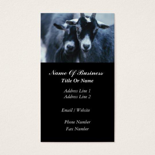 Goat Farmer Business Card