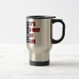 Goat Farming its a way of life Travel Mug