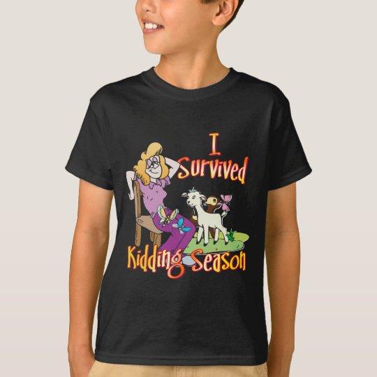 GOAT | Funny Kidding Season by GetYerGoat T-Shirt