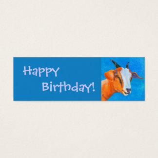 Goat Gift Tag