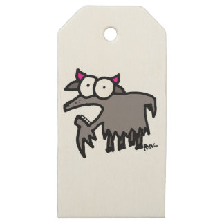 Goat Gifts and Goodies Wooden Gift Tags