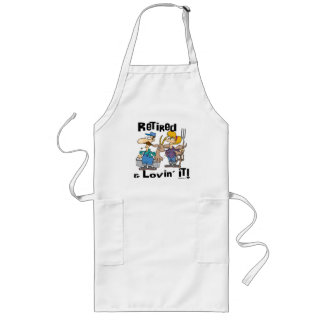 Goat Gifts for Dads Long Apron