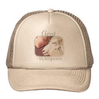 Goat Gifts Goat Whisperer Trucker Hat