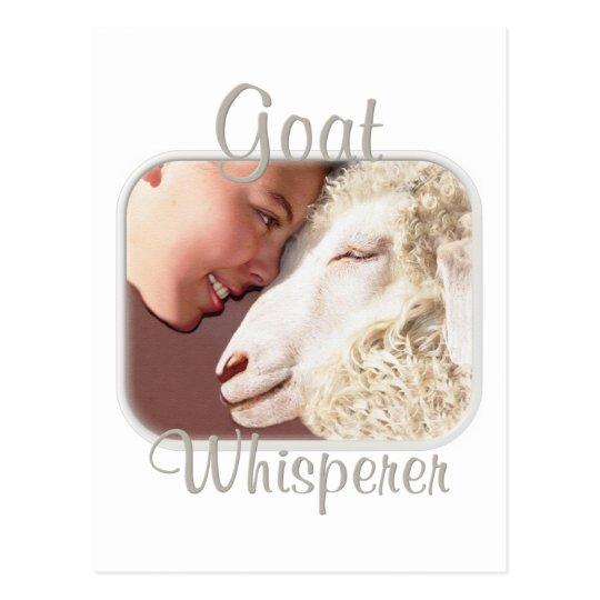 Goat Gifts Goat Whisperer Postcard