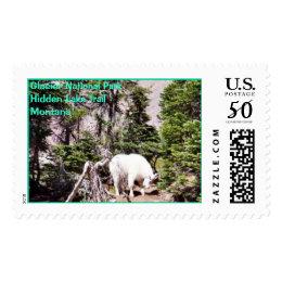 Goat, Glacier National Park Postage