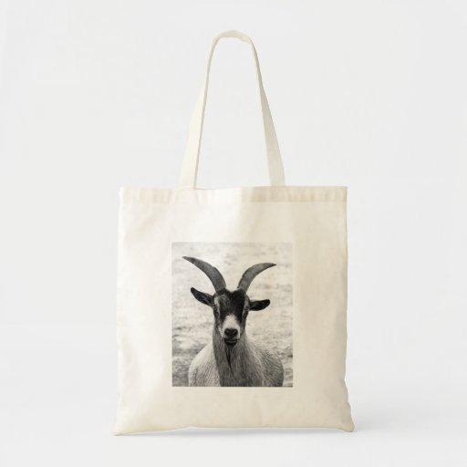 Goat Head Canvas Bags