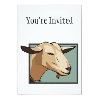 Goat Head Card