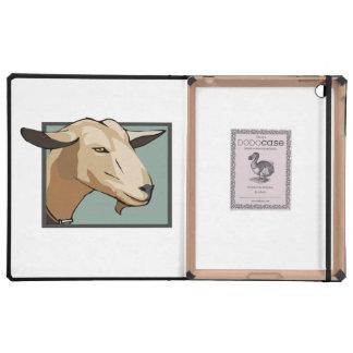 Goat Head iPad Folio Cases