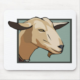 Goat Head Mouse Pad