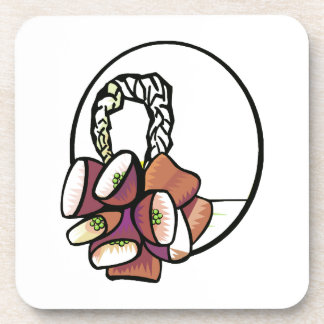 Goat Hoof Rattle Clear Background Music Graphic Coaster