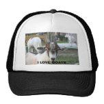 goat, I LOVE GOATS Hat