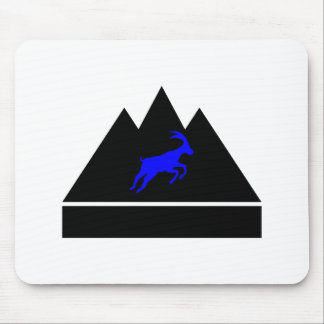 Goat in a Mountain Mouse Pad
