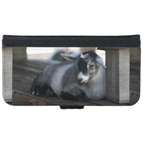 Goat Wallet Phone Case For iPhone 6/6s