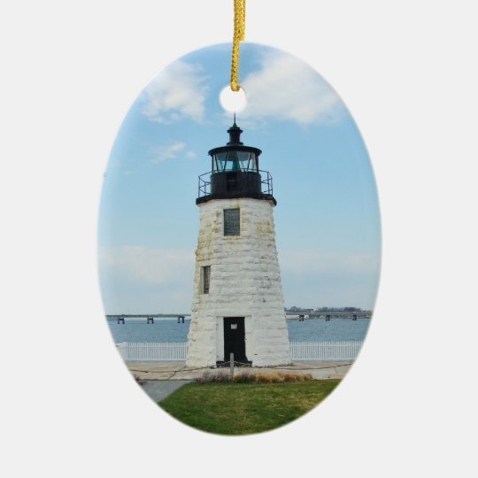 Goat Island Lighthouse Ornament