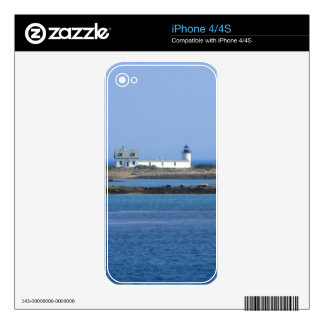 Goat Island Lighthouse Skin For The iPhone 4S