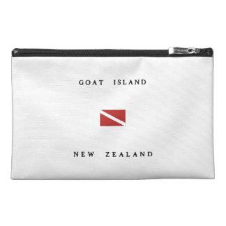 Goat Island New Zealand Scuba Dive Flag Travel Accessory Bags