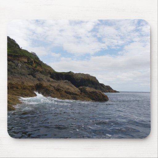 Goat Island Rocks Mouse Pad