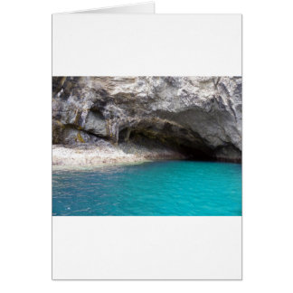 Goat Island Sea Cave Card