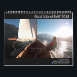 """Goat Island Skiff Calendar 2018<br><div class=""""desc"""">The Goat Island Skiff is beautiful,  so every year the group on Facebook puts together a calendar of the best photos of the year.  We then vote for  the best photos and put the best 12 photos in the calendar.</div>"""