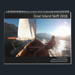 "Goat Island Skiff Calendar 2018<br><div class=""desc"">The Goat Island Skiff is beautiful,  so every year the group on Facebook puts together a calendar of the best photos of the year.