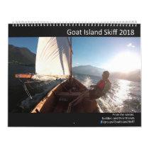 Goat Island Skiff Calendar 2018