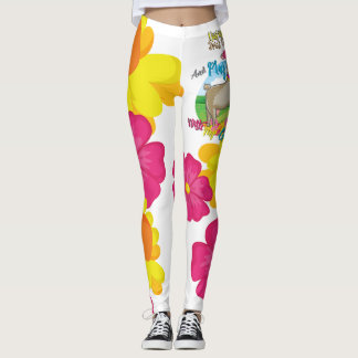 GOAT | Just Want to Drink Coffee Play With Goats Leggings