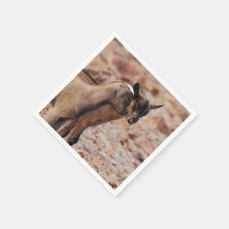 Goat Kids Paper Napkin