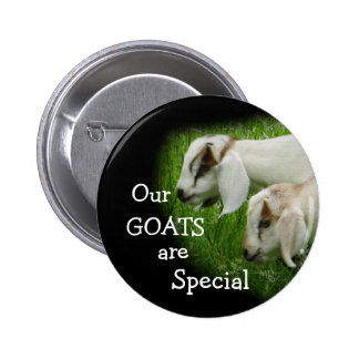 Goat Kids pin-personalize Button