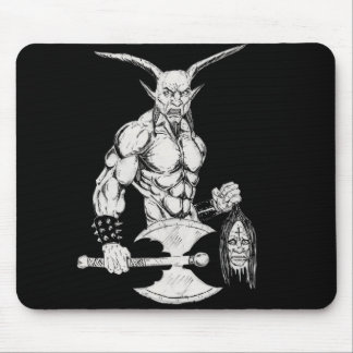 Goat Lord Mouse Pad