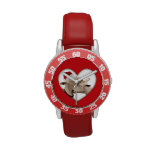 Goat Love at Christmas Wristwatch